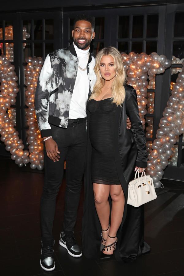 Khloe Kardashian e Tristan Thompson (Foto  Getty Images) 02639b5c7a6da