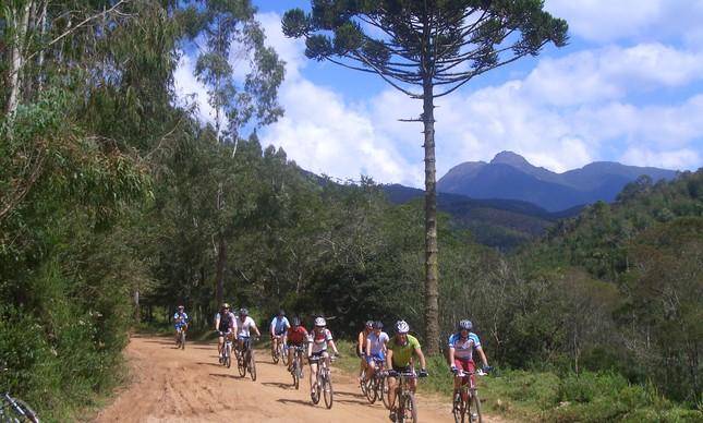 Ciclo viagem em Passa Quatro