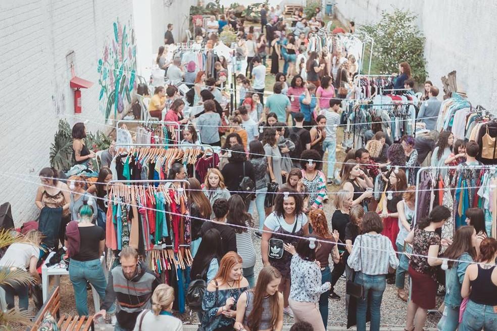O Bazar das Manas é uma feira cultural que tem como foco o empreendedorismo feminino e a valorização da produção local. — Foto: Reprodução/Facebook.