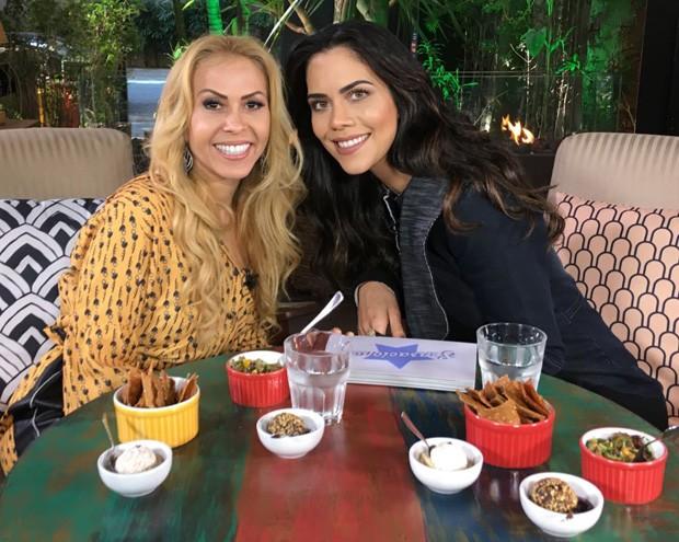 Joelma e Daniela Albuquerque (Foto: Divulgação/RedeTV!)