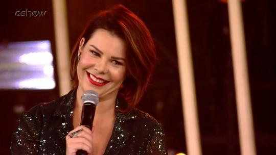 Fernanda Souza se derrete por Thiaguinho no 'SóTocaTop': 'Não aguento, gente'
