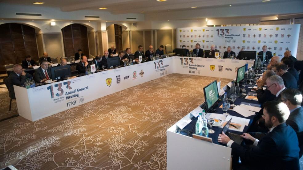 IFAB realizou seu 133º anual neste sábado — Foto: Divulgação/IFAB