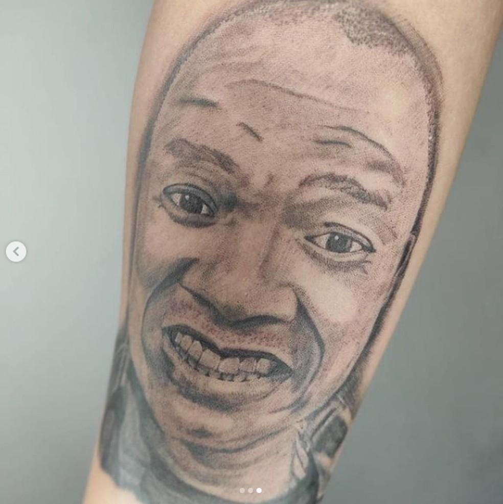 Resultado de imagem para molejo foto tatuagem