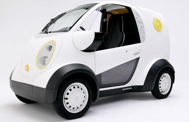 2016 Toyota Corolla S Plus >> Honda inventa carro elétrico feito em uma impressora 3D ...