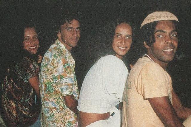 Gal Costa, Caetano Veloso, Maria Bethânia e Gilberto Gil (Foto: Reprodução/Instagram)