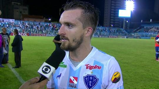 Nando Carandina avalia vitória do Paysandu sobre o Londrina