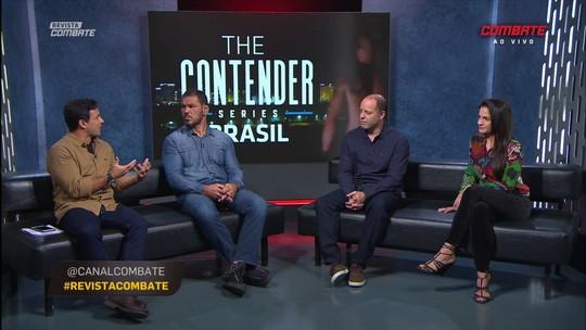 Rodrigo Minotauro e Kyra Gracie apresentam o The Contender Series Brasil