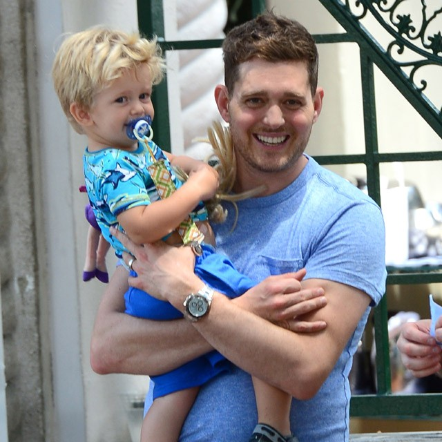 Michael Bublé e Noah (Foto: The Grospy Group)