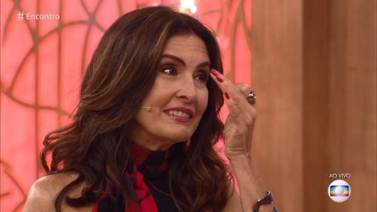 Fátima Bernardes se emociona com apresentação de palhaços: 'Muito linda'