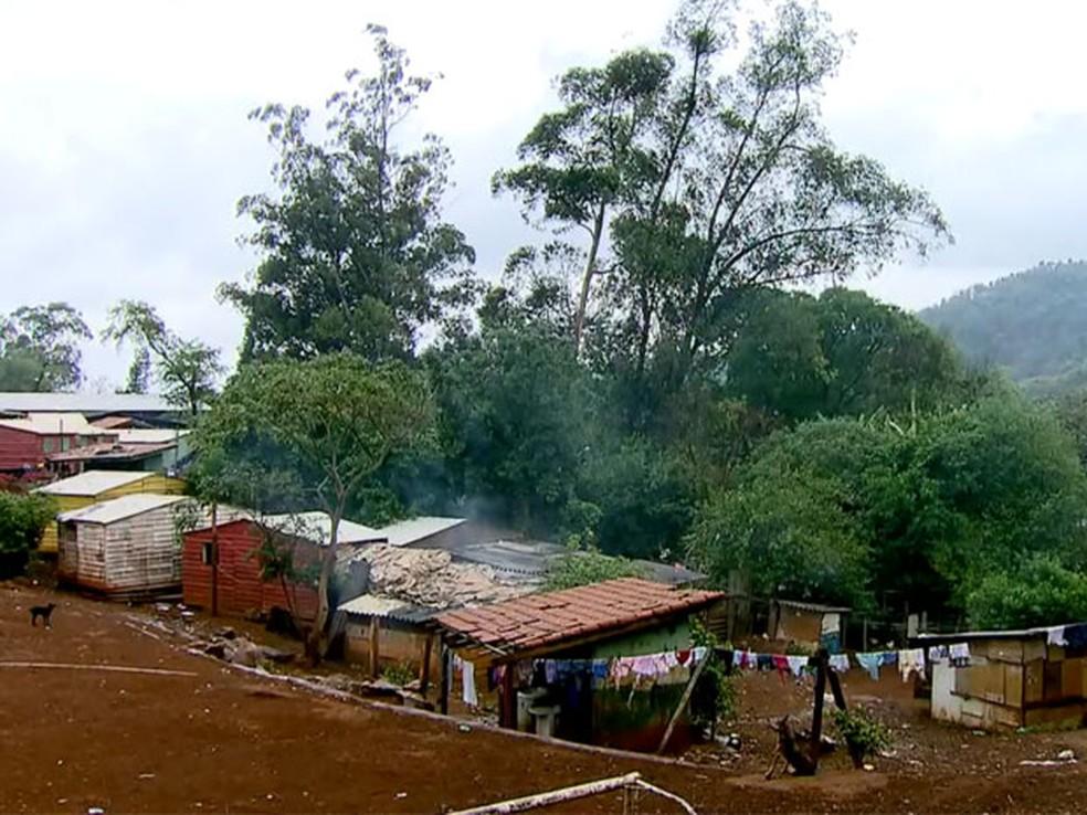 Aldeia terra indígena Jaraguá (Foto: TV Globo/Reprodução)