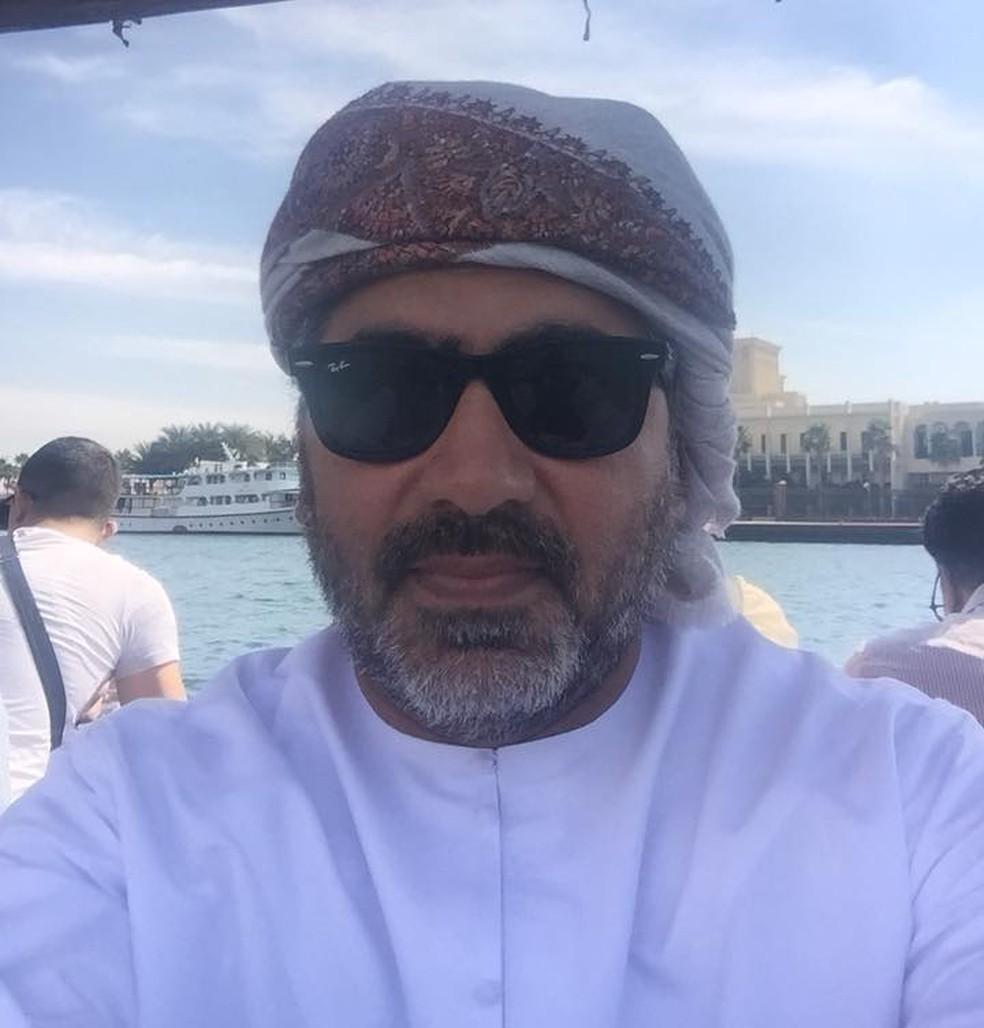 Faisal Ibrahim Abdulrahman Younes, de 49 anos, foi assassinado em fevereiro — Foto: Arquivo Pessoal