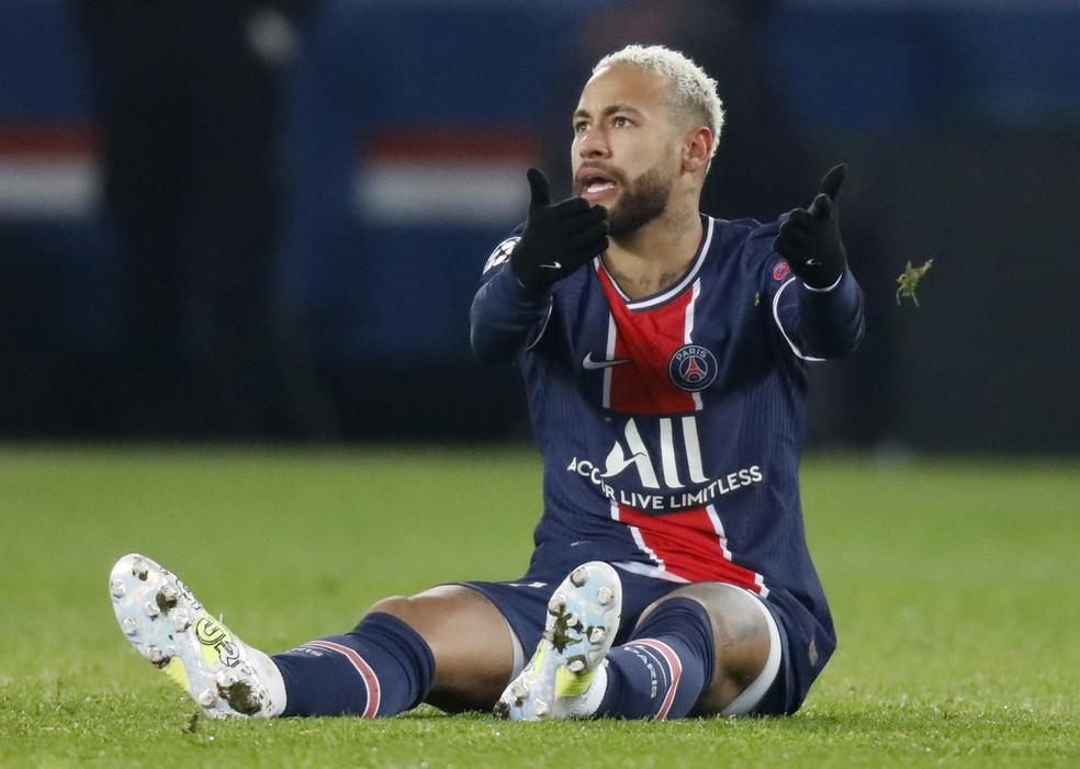 Neymar usou ironia para se manifestar após não estar no trio final do prêmio The Best — Foto:  REUTERS/Charles Platiau