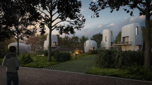 Holanda terá primeiras casas impressas em 3D (Foto: Divulgação)
