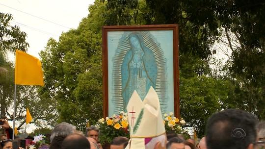 Romaria de Guadalupe reúne cerca de 15 mil fiéis em Pelotas