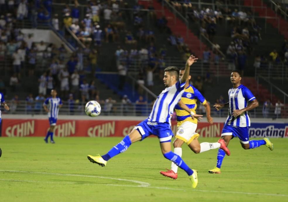 CSA jogou pela última vez no dia 15 de março, contra o Freipaulistano — Foto: Ailton Cruz/Gazeta de Alagoas