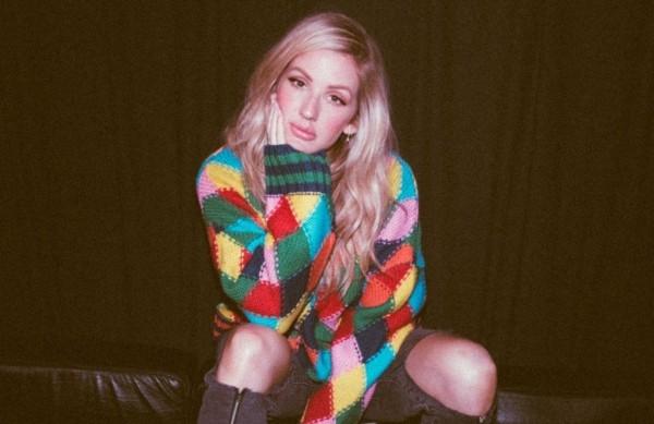 Cantora britânica Ellie Goulding ficou noiva de seu namorado, Caspar Jopling (Foto: Reprodução/Twitter)