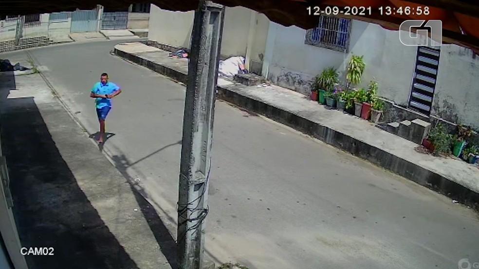 Homem invade casa armado e rouba morador na Cidade Operária, em São Luís — Foto: Divulgação/Polícia Civil