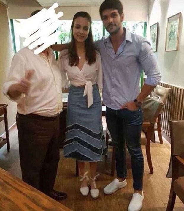 Ana Lucia e Lucas posam juntos em São Paulo (Foto: Reprodução / Instagram)