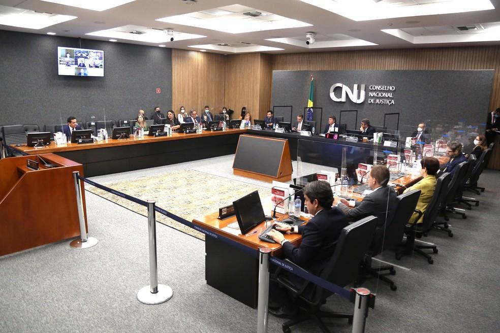 Plenário CNJ (arquivo) — Foto: CNJ/Divulgação