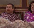 Bryan Cranston como Hal e Jane Kaczmarek | Reprodução