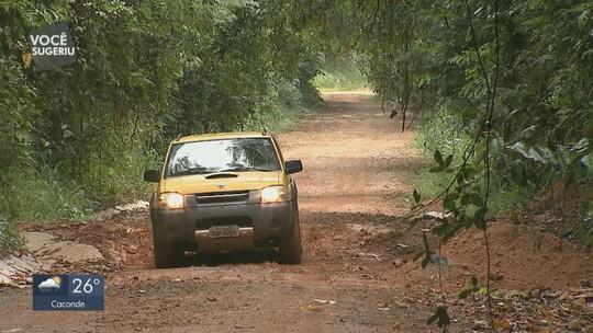 Obra inacabada da Rodovia SP-211  causa transtornos em Rio Pardo