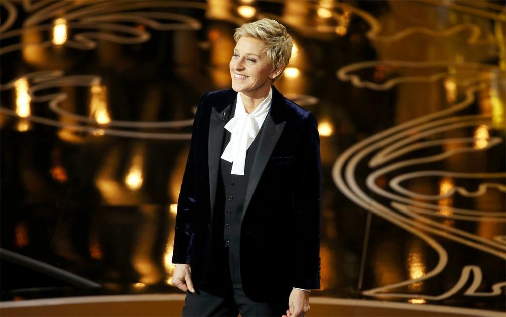 -  Ellen DeGeneres apresenta o Oscar 2014  Foto: REUTERS/Lucy Nicholson