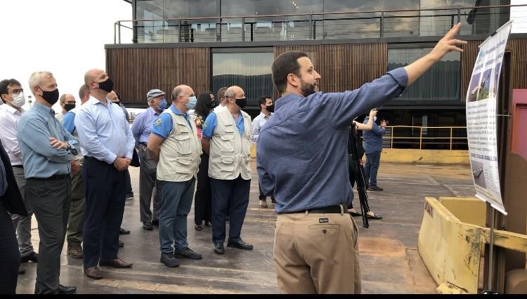 Membros de Conselho da Suframa conhecem fábrica fluvial de produção e beneficiamento de açaí