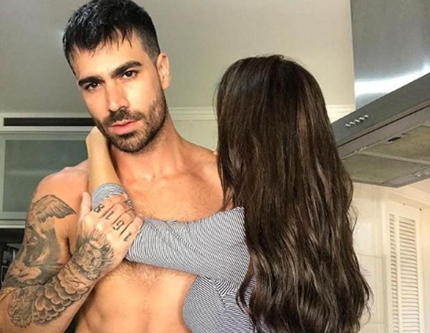 Rodrigão e Adriana SantAnna (Foto: Reprodução/Instagram)