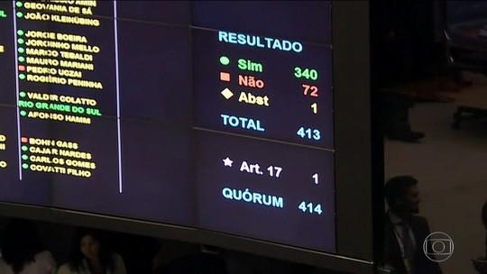 Senado vota intervenção no RJ hoje após Câmara aprovar decreto