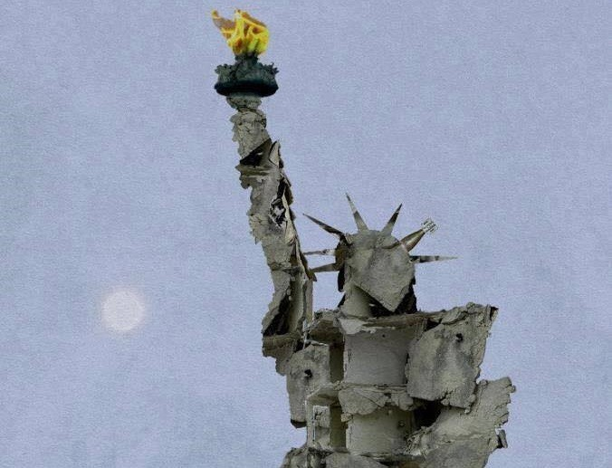 Statue of Liberty de Tammam Azzam