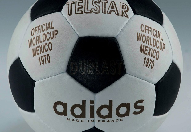 A Telstar original, de 1970. Design de gomos brancos e pretos ficou para a história (Foto: Todd Lappin/Flickr)