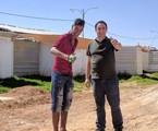 Pedro Bassan na Jordânia | Divulgação/TV Globo