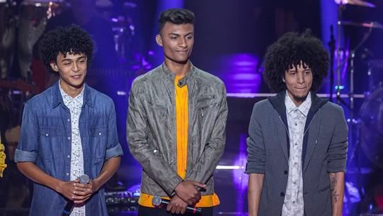 Willian Kessley e Ramon e Rafael testam seus conhecimentos sobre o 'The Voice Brasil'
