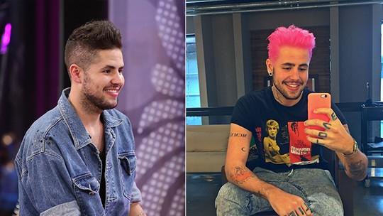 Leandro Buenno muda cor do cabelo em homenagem a Nikki