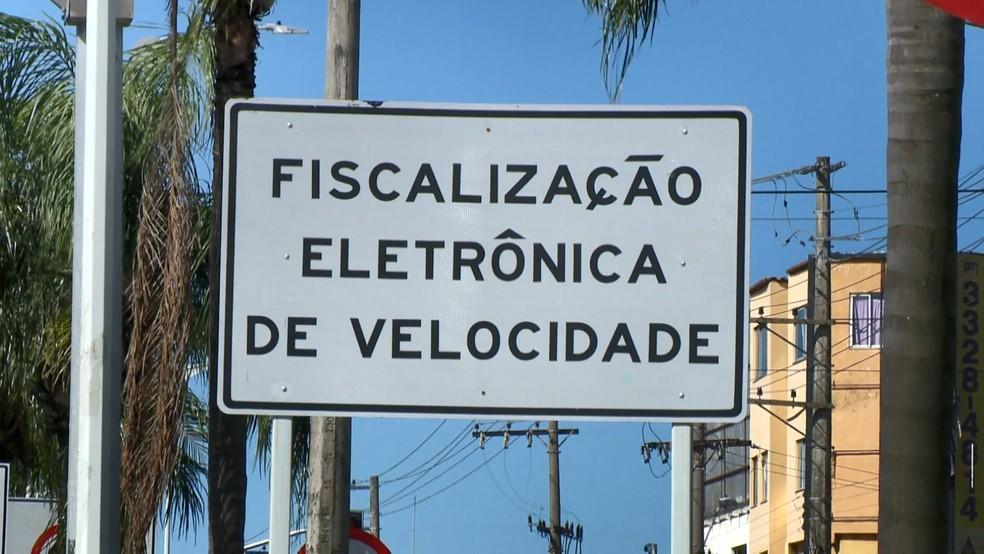 Novos aparelhos de fiscalização são instalados no ES — Foto: Reprodução/ TV Gazeta