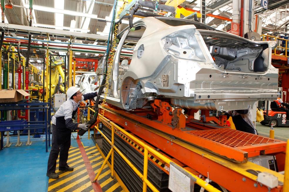 Fábrica da Chevrolet na Colômbia (Foto: Divulgação)