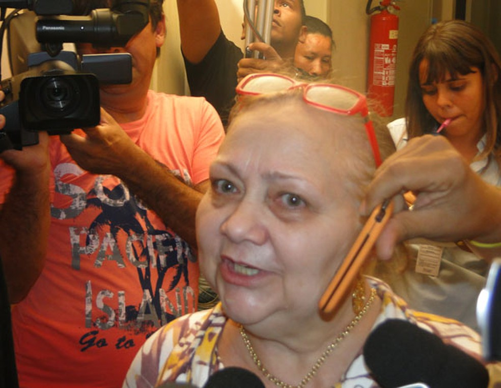 Justiça condenou a ex-prefeita Bia Venâncio por improbidade administrativa. (Foto: Manoel Costa)