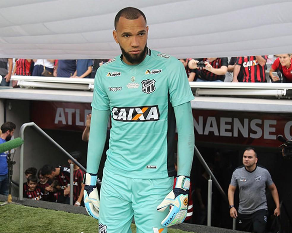 Everson é alvo do Grêmio — Foto: Flickr do Ceará Sporting Club