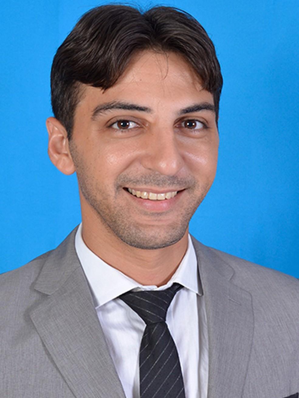 Vice-prefeito de Granjeiro, Ticiano Tomé — Foto: Divulgação/Prefeitura de Granjeiro