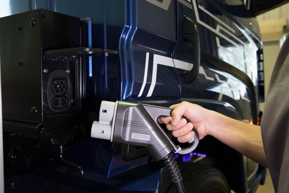 Volkswagen e-Delivery pode ser carregado em 3 horas (Foto: Divulgação)