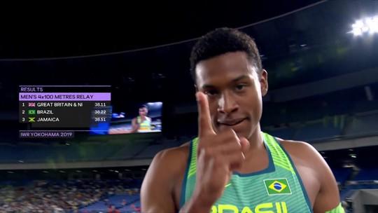 Equipe Brasileira masculina consegue vaga na final do 4x100m do Mundial de Revezamento
