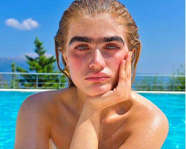 A modelo Sophia Hadjipanteli (Foto: Instagram)
