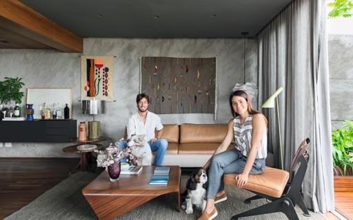 Cobertura de 180 m² ganha ambientes mais amplos e peças assinadas