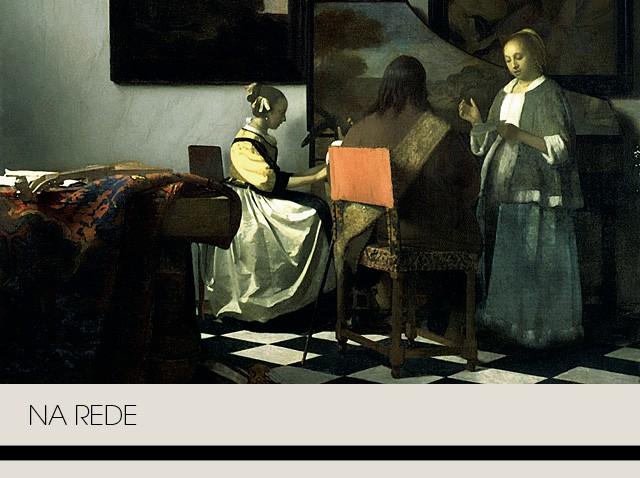 A tela O Concerto, Johannes Vermeer, surrupiada do Gardner Museum, em Boston, em 1990, (Foto:  Wikimedia Commons)