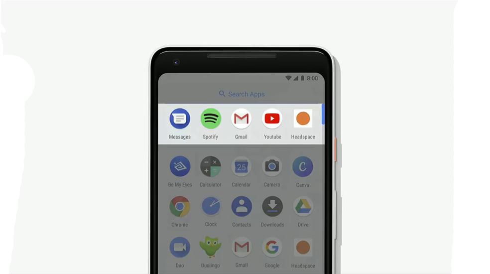Android P lança versão beta e destaca apps com base no comportamento do usuário (Foto: Reprodução/TechTudo)