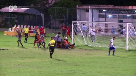 Com gol aos 45, Ferroviário leva jogo para os pênaltis, elimina o Piauí e vai à semifinal do Sub-19
