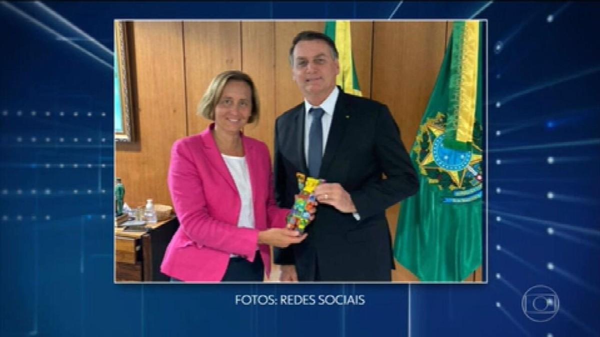 Entidades judaicas criticaram encontro de deputada alemã da extrema-direita com Bolsonaro