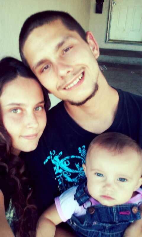 Christy, o marido e a  filha (Foto: Arquivo pessoal)
