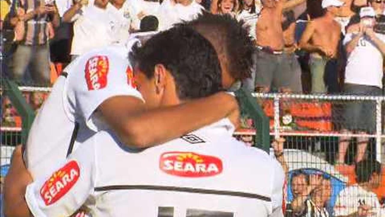 Santos 2 x 3 Santo André: dois gols na final do Paulistão 2010
