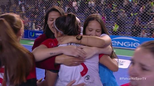 Os gols de Leoas da Serra 5 (2) x 5 (1) Taboão da Serra pela final da Taça Brasil de Futsal